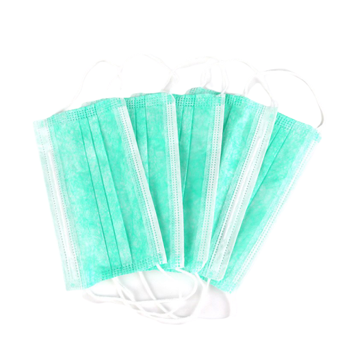 10pcs Set Mouth Mask Disposable Cotton Mouth Face Masks Non-Woven Mask Anti-Dust Mask Anti Pollution Mask