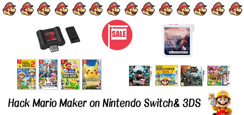 Super Mario Maker 2 Free Download|How to hack it on Switch