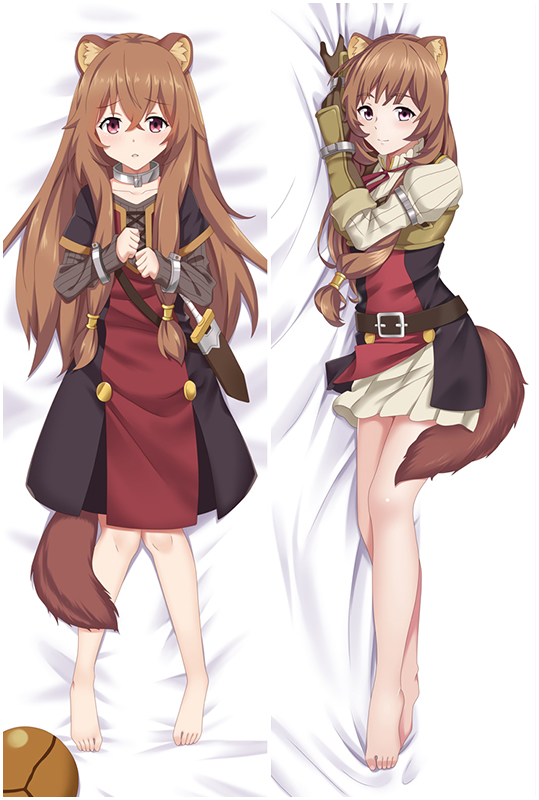 Aneko Yusagi Raphtalia Anime Dakimakura Character Body Pillow