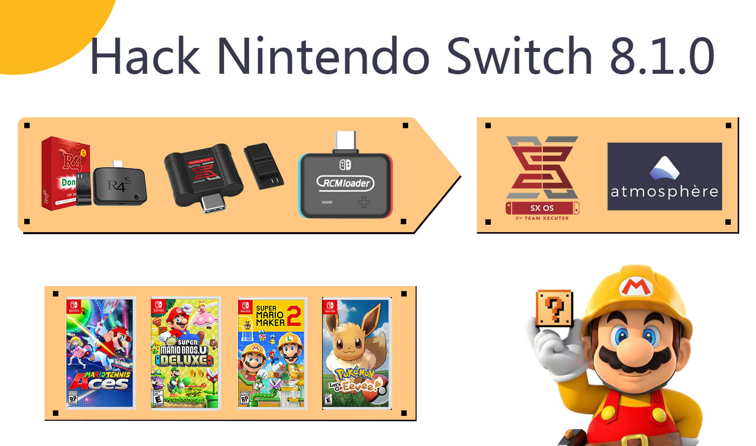 Switch Tips]What do you must to know before hacking Switch