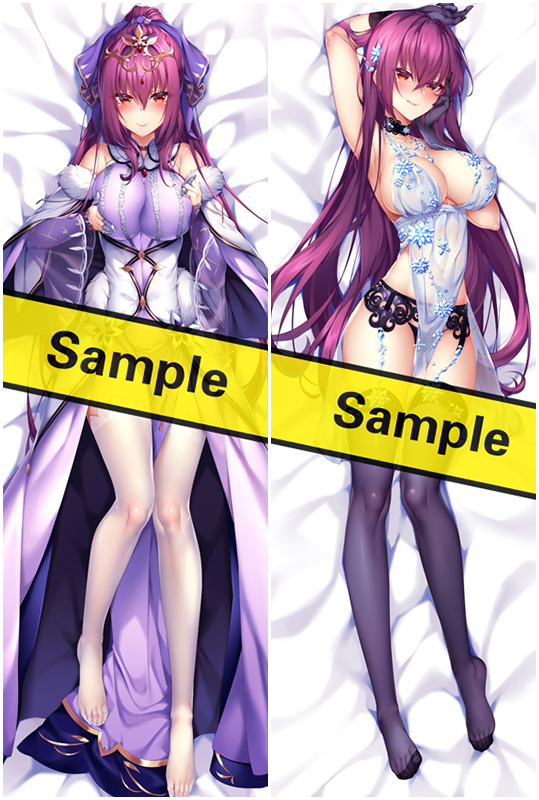 Fate Grand Order Scathach Japanese Waifu Pillow Dakki Pillow Cover