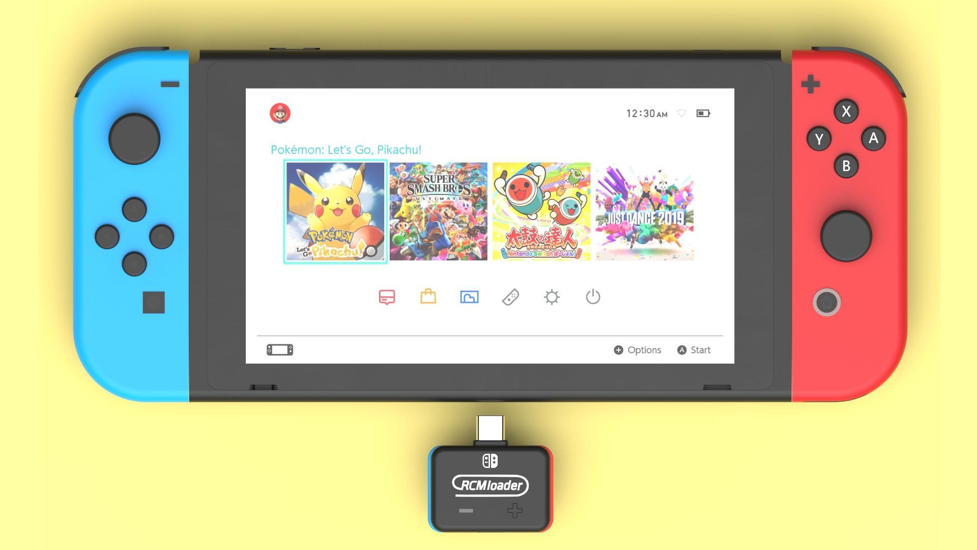 Comment installer CFW atmosphère sur Nintendo Switch v8.0.1 avec RCM loader ? dans Nintendo Switch 11887e0d-1323-4ea0-b27e-6684a9fa5123