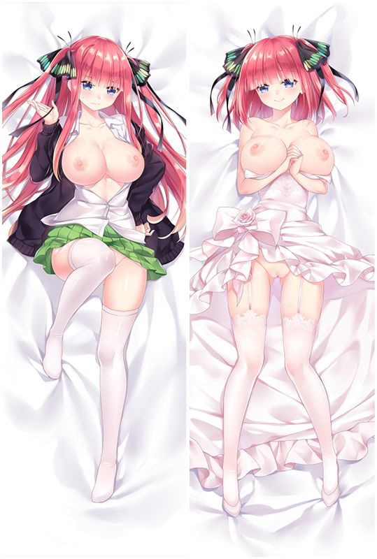 The Quintessential Quintuplets Nakano Nino Anime Dakimakura Character Body Pillow