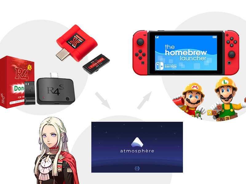hack nintendo switch 9.0.0 with cheap dongles