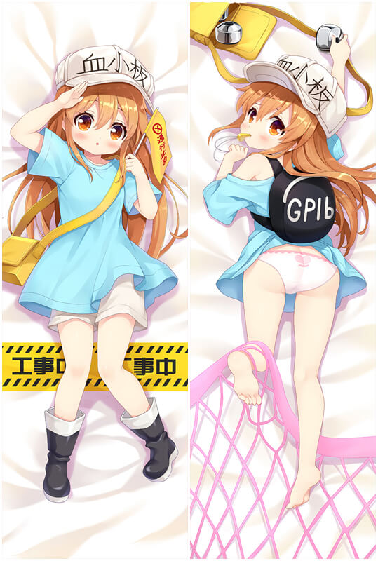 Cells at Work Platelet Anime Dakimakura Character Body Pillow