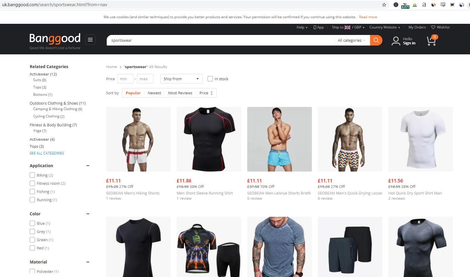 wholesale sportswear dropshippers uk usa