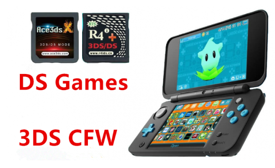 How to play ds games on 3DS via NDS emulator, Homebrew or CFW