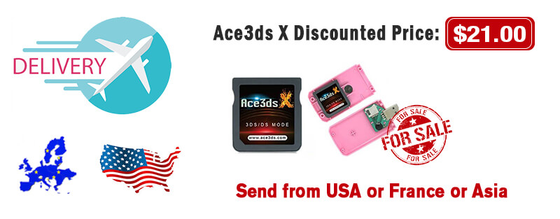 buy ace3ds x with promo code