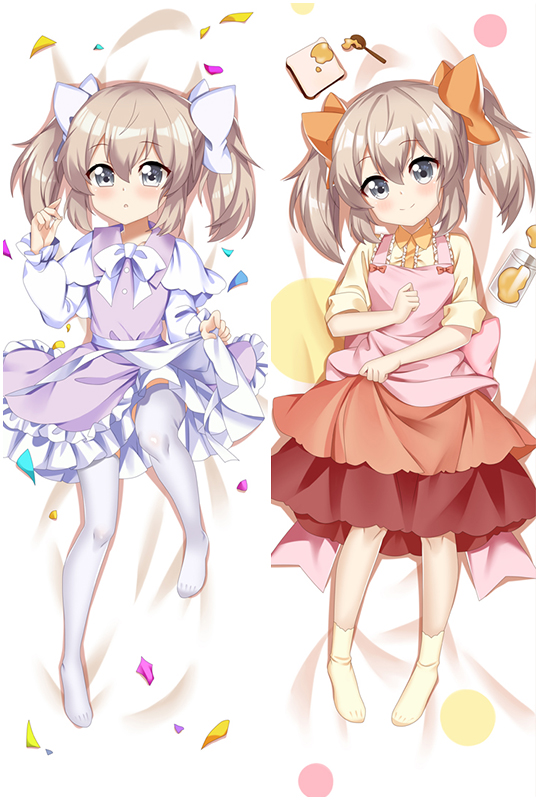 If It's for My Daughter I'd Even Defeat a Demon Lord Latina Anime Dakimakura Hugging Body Pillow Cover