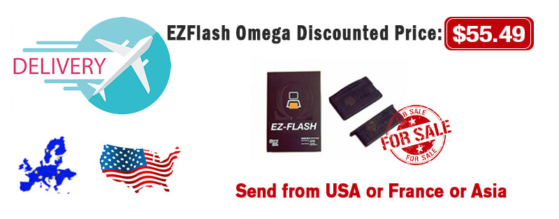 ezflash omega buy with discount
