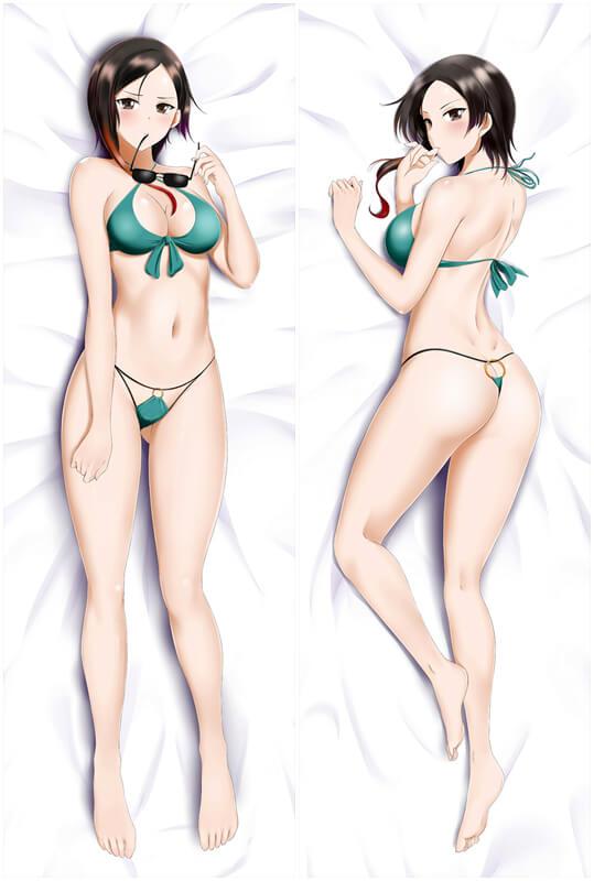 RWBY Coco Adel Japanese Waifu Pillow Dakki Pillow Cover