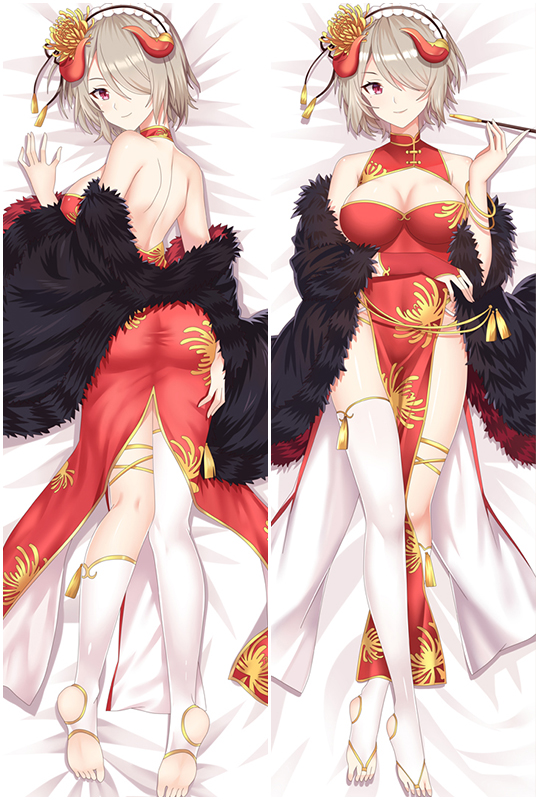 Guns GirlZ Anime Dakimakura Hugging Body Pillow Cover