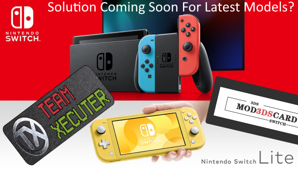 hacking on switch lite and patched switch