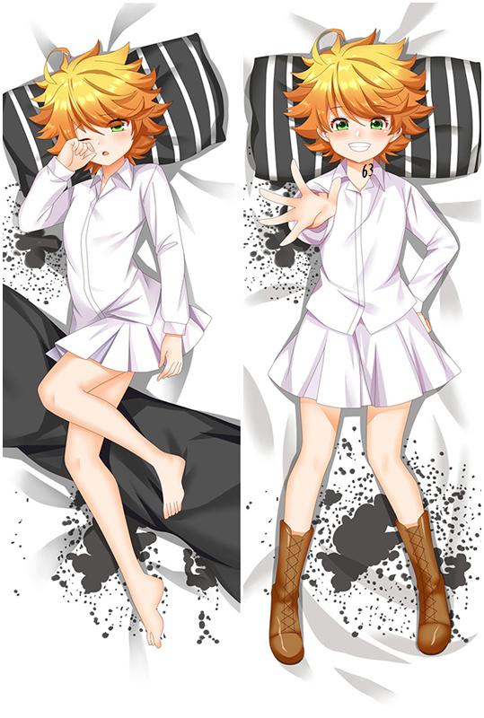 The Promised Neverland Emma Anime Dakimakura Hugging Body Pillow Cover