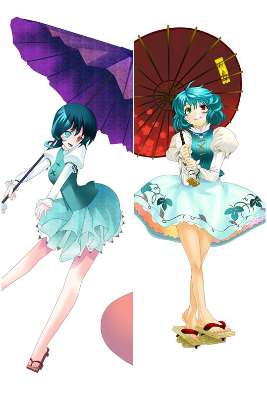 TOU Hou Project Kazami Yuuka Anime Dakimakura Character Body Pillow