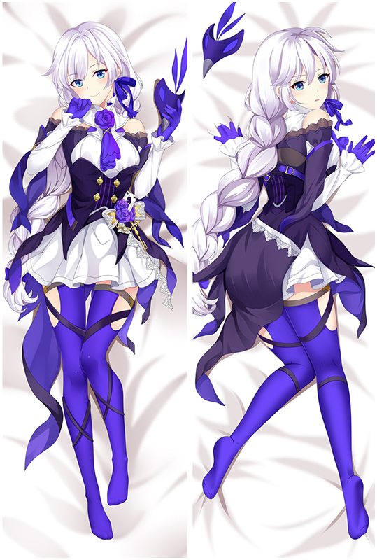 Collapse Gakuen academy Kiana Kaslana Love Pillow Anime Dakimakura Pillowcase