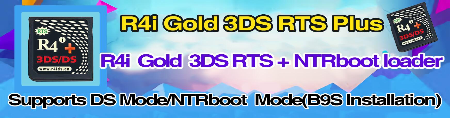 R4i gold 3ds plus