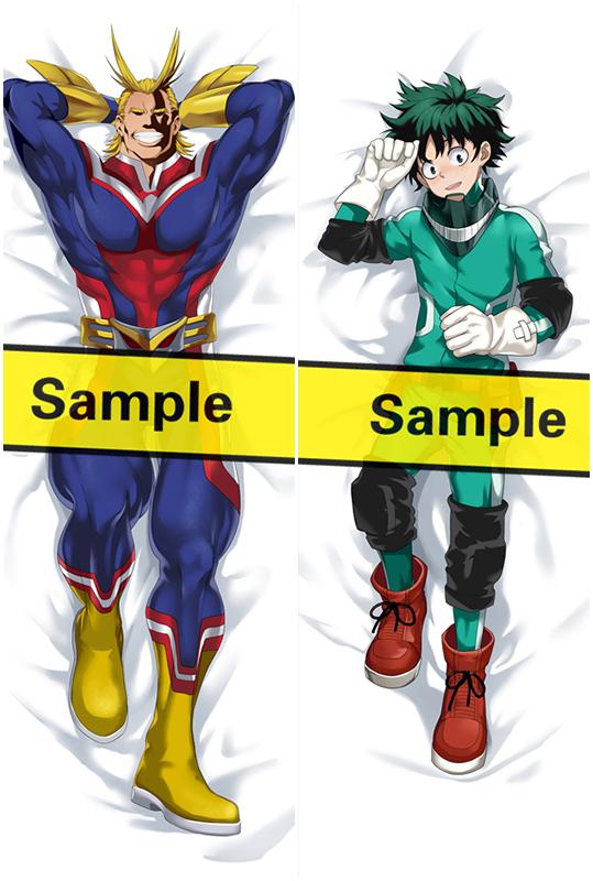 My Hero Academia Bakugou Katsuki Japanese Waifu Pillow Dakki Pillow Cover