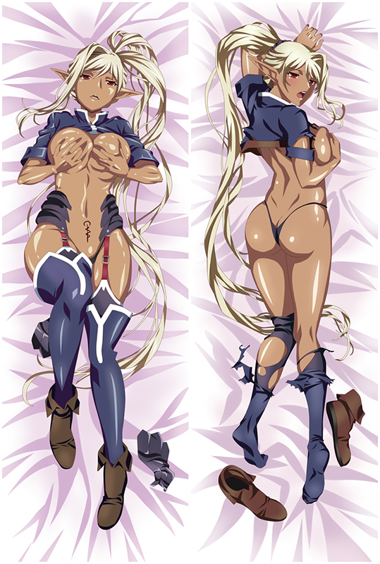 Black Beast Chloe Anime Dakimakura Hugging Body Pillow Cover