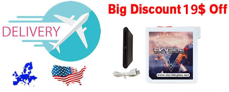 sky3ds+ bulk discount buy with free skydock