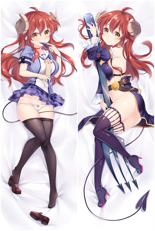 The Demon Girl Next Door Yuko Yoshida Anime Dakimakura Character Body Pillow