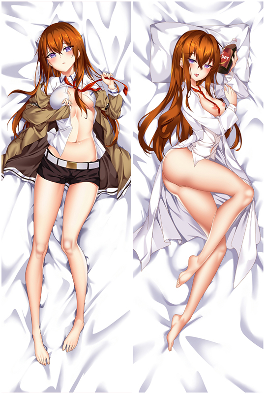 SteinsGate Makise Kurisu Japanese Waifu Pillow Dakki Pillow Cover