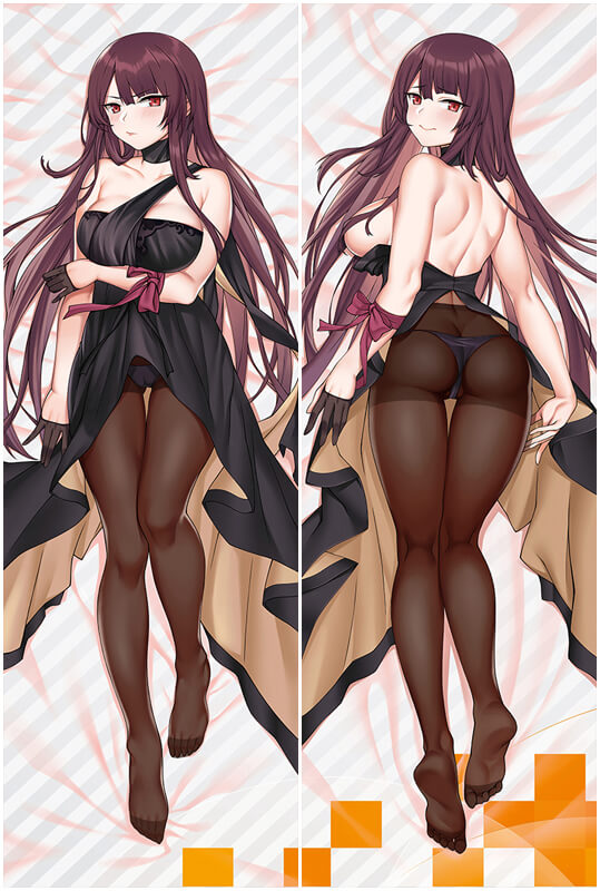 Girls' Frontline WA2000 Love Pillow Anime Dakimakura Pillowcase