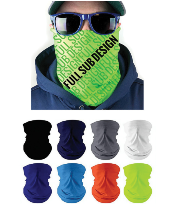 sublimation blank neck gaiters