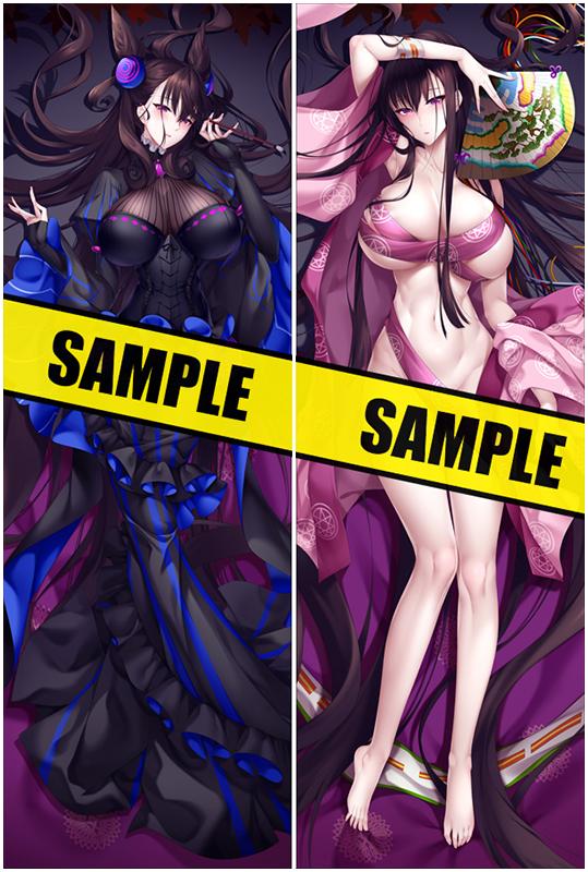 Fate Grand Order Murasakishikibu Japanese Waifu Pillow Dakki Pillow Cover