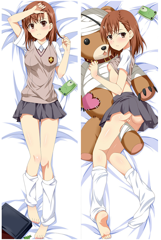 A Certain Scientific Railgun Mikoto Misaka Love Pillow Anime Dakimakura Pillowcase
