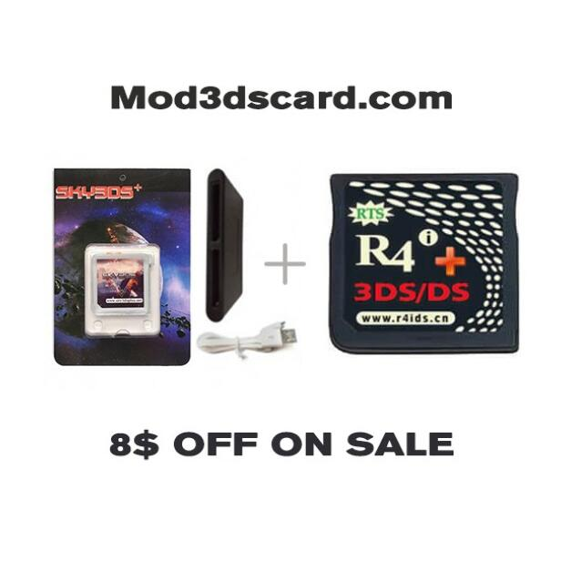 R4 card-Is it the best way for playing ds/3ds games on