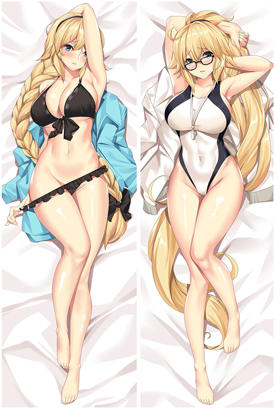 Fate Grand Order Jeanne d'Arc Love Pillow Anime Dakimakura Pillowcase