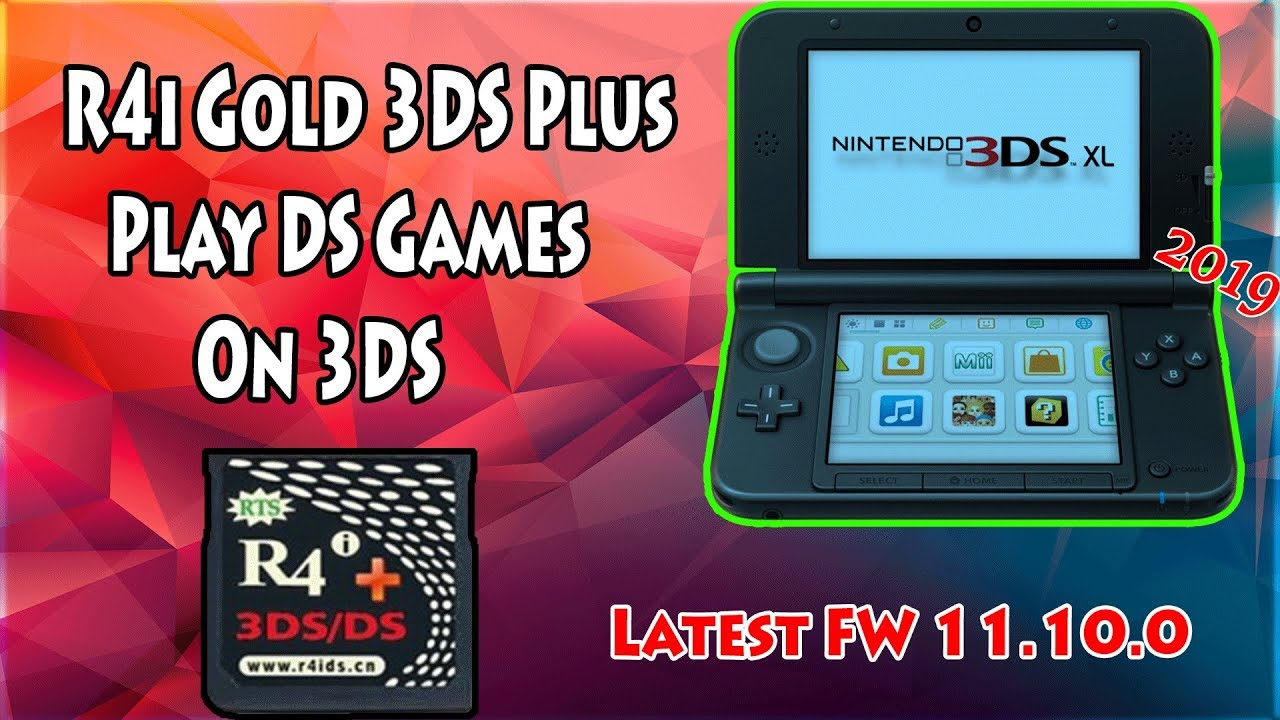 R4i Gold 3ds Plus Firmware
