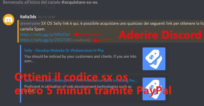 acquista sx os PayPal