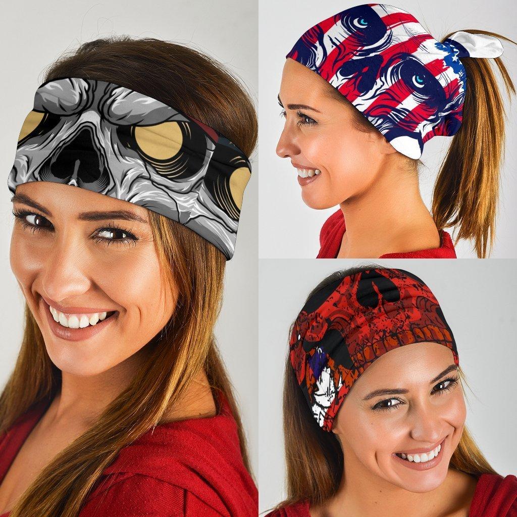 best skull neck gaiter for women