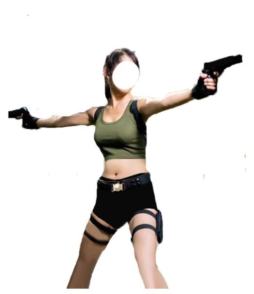 Tomb Raider Lara Croft Cosplay Costume - Fast Free Shipping