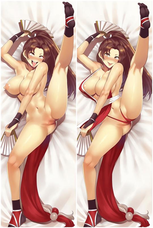 THE KING OF FIGHTERS Mai Shiranui Japanese Dakimakura Anime Body Pillowcase