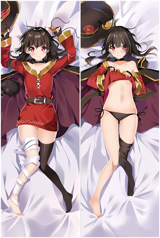 God's blessing on this wonderful world! Love Pillow Anime Dakimakura Pillowcase